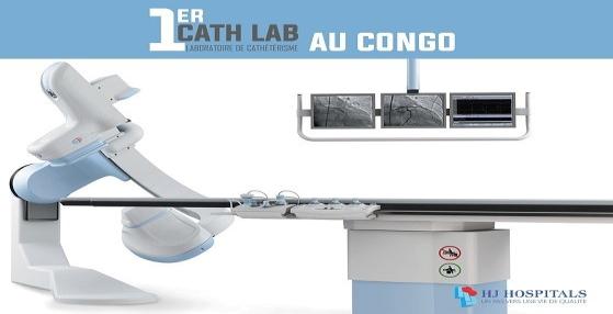 Premier laboratoire de cathétérisme au Congo