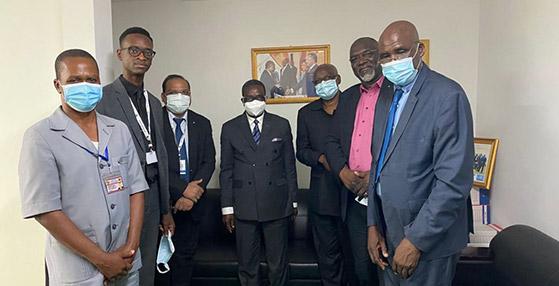 Une délégation de l'Hôpital HJ s'est rendue à Brazzaville