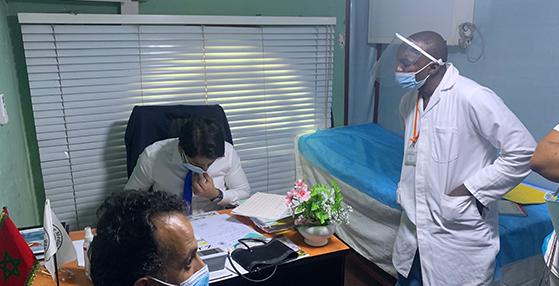 OPD spéciale pour la cardiologie et l'urologie à Brazzaville