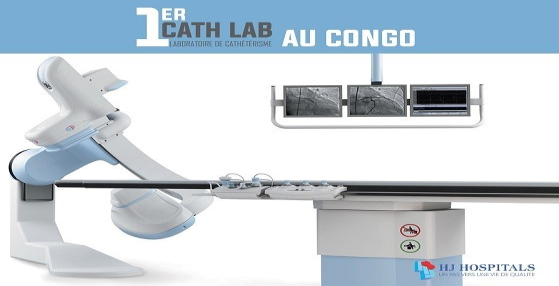 First Catheterization Laboratory in the Congo   24th August 2019 08: