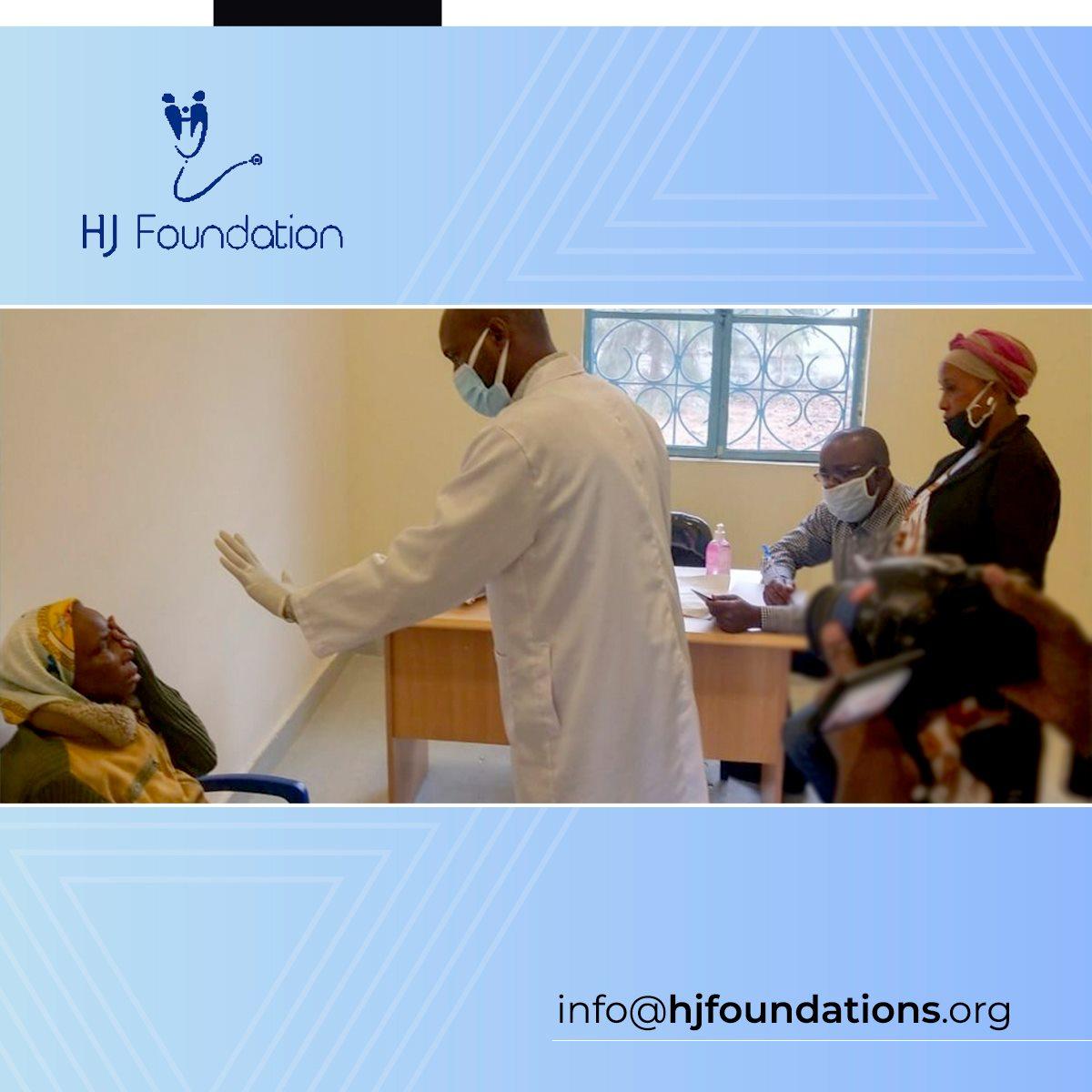 Consultation d'Ophtalmologie au HJ Centre de GOMA